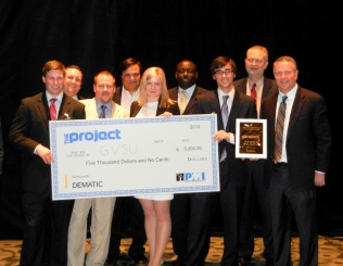 Click to enlarge our Winning GVSU Team